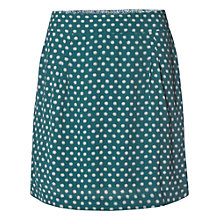 Buy White Stuff Ying Yang Skirt, Ivy Green Online at johnlewis.com