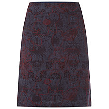 Buy White Stuff Trinity Embroidered Skirt, Oxford Blue/Multi Online at johnlewis.com