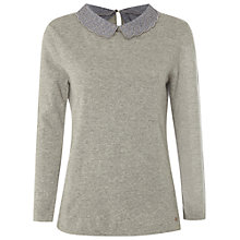 Buy White Stuff Moma Jumper, Stone Grey Online at johnlewis.com