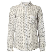 Buy White Stuff Oxford Comma Bee Shirt, White Online at johnlewis.com