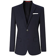 Buy HUGO by Hugo Boss Chutsons Polka Dot Slim Fit Blazer, Navy Online at johnlewis.com