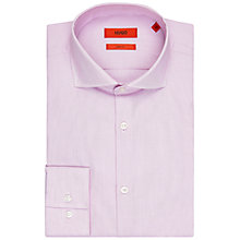 Buy HUGO by Hugo Boss Jery Fine Stripe Slim Fit Shirt Online at johnlewis.com