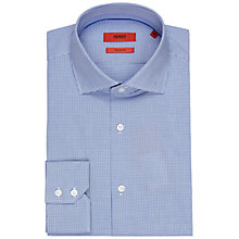 Buy HUGO by Hugo Boss Ceraldi Grid Check Regular Fit Shirt Online at johnlewis.com