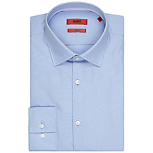 Buy HUGO by Hugo Boss Joey Dash Regular Fit Shirt, Light/Pastel Blue Online at johnlewis.com