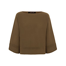 Buy Jaeger Wool Cape Sweater Online at johnlewis.com