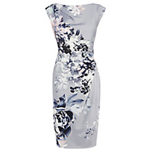 Buy Coast Lyon Print Calia Dress, Grey/Multi Online at johnlewis.com