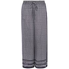 Buy Jaeger Mosaic Print Culottes, Midnight Online at johnlewis.com