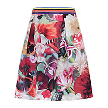 Buy Ted Baker Kaideen Floral Swirl Skirt, Fuchsia Online at johnlewis.com