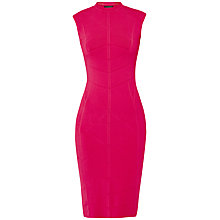 Buy Ted Baker Sahskia Bodycon Jacquard Knitted Dress, Fuchsia Online at johnlewis.com