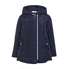 Buy John Lewis Girls' Lightweight Zip Coat, Navy Online at johnlewis.com