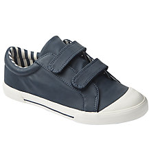 Buy John Lewis Children's Ellie Suede Shoes, Navy Online at johnlewis.com