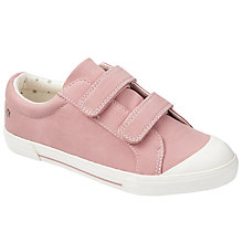 Buy John Lewis Children's Ellie Suede Shoes, Pink Online at johnlewis.com