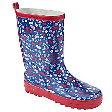 Buy John Lewis Children's Berries Print Wellington Boots, Multi Online at johnlewis.com
