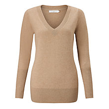 Buy John Lewis Cashmere Deep V-Neck Jumper Online at johnlewis.com