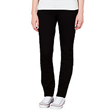 Buy John Lewis Slim Leg Jeans, Black Online at johnlewis.com