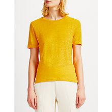 Buy Samsoe & Samsoe Agnes Knitted Top, Gold Fusion Online at johnlewis.com