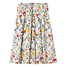 Buy Toast Abstract Floral Print Skirt, Multi Online at johnlewis.com