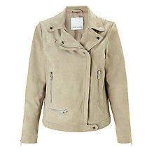 Buy Samsoe & Samsoe Anis Jacket, Vintage Khaki Online at johnlewis.com
