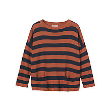 Buy Toast Stripe Cotton/Linen Jumper Online at johnlewis.com