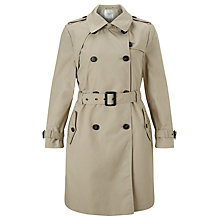 Buy Selected Femme Maji Classic Trench Coat, Plaza Taupe Online at johnlewis.com
