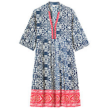 Buy Toast Embroidered Batik Print Dress, Multi Online at johnlewis.com