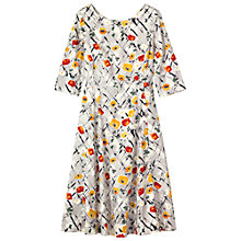 Buy Toast Abstract Floral Print Dress, Multi Online at johnlewis.com