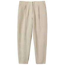 Buy Toast Linen/Cotton Trousers, Natural Online at johnlewis.com