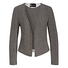 Buy Oui Knitted Blazer, Grey/Off White Online at johnlewis.com