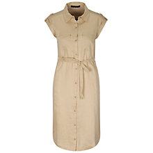 Buy Oui Shirt Dress, Toffee Online at johnlewis.com