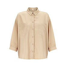 Buy Selected Femme Nevia Cropped Shirt Online at johnlewis.com