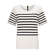 Buy Selected Femme Malmik Striped T-Shirt Online at johnlewis.com