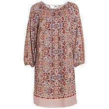 Buy Max Studio Floral Print Dress, Pink/Coral Online at johnlewis.com