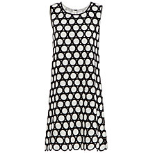 Buy Max Studio Embellished Daisy Dress, Black/White Online at johnlewis.com