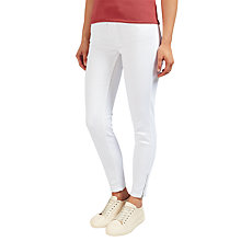Buy Selected Femme Bea Slim Fit Jeans, Bright White Online at johnlewis.com