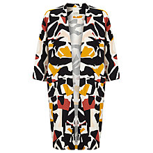 Buy Selected Femme Dimer Abstract Print Soft Jacket, Dusty Cedar Online at johnlewis.com