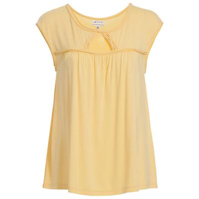 Max Studio Cap Sleeve Jersey Top, Snapdragon