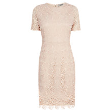 Buy Coast Rosita Lace Dress, Blush Online at johnlewis.com