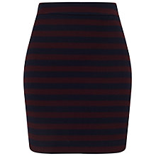 Buy Miss Selfridge Striped Boucle Skirt, Multi Online at johnlewis.com