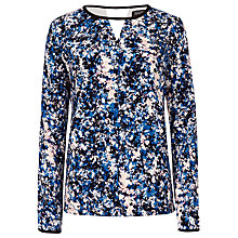 Buy Sugarhill Boutique Katelyn Floral Smudge Top, Multi Online at johnlewis.com