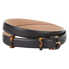 Buy Hobbs Katie Belt, Black Online at johnlewis.com