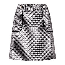 Buy Miss Selfridge Jacquard A-Line Skirt, Multi Online at johnlewis.com
