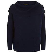 Buy Jaeger Wool Slouchy Cowl Neck Jumper Online at johnlewis.com