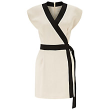 Buy Miss Selfridge Kimono Style Playsuit, Nude Online at johnlewis.com