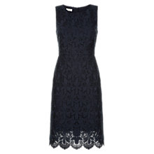 Buy Hobbs Rina Lace Dress, Navy Online at johnlewis.com