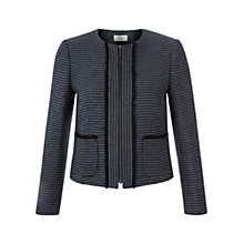 Buy Hobbs Saffie Jacket, Navy Multi Online at johnlewis.com