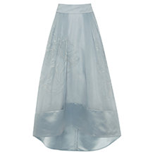 Buy Coast Sulla Organza Skirt, Pale Blue Online at johnlewis.com