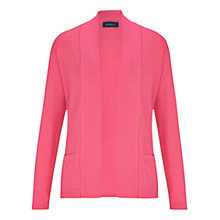 Buy Viyella Merino Edge to Edge Cardigan, Pink Online at johnlewis.com