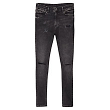 Buy Mango Soho Skinny Jeans, Open Grey Online at johnlewis.com