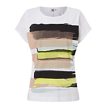 Buy Kin by John Lewis Limited Edition Linear Brush Stroke T-Shirt, Multi Online at johnlewis.com