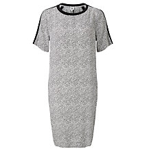 Buy Kin by John Lewis Broken Stripe Print Dress, Black/White Online at johnlewis.com